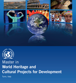 MASTER World Heritage and Cultural Projects for Development
