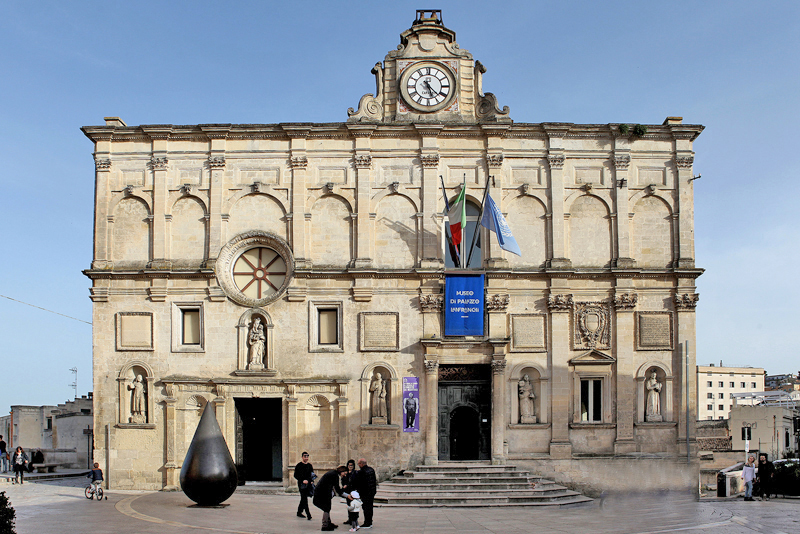 """A Matera """"after hour"""" Palazzo Lanfranchi per GEP 2020"""